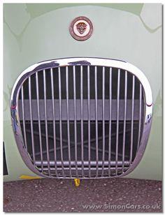 ab_Jaguar C-type 1952 grille - Jaguar C-type 1952 - grille Vintage Paint Colors, Jaguar Xk120, Race Cars, Classic Cars, Racing, Type, Drag Race Cars, Running, Vintage Classic Cars