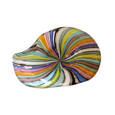 Vintage Murano Glass Candy Dish