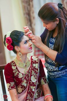 Preparations! Da' Momento Studio, Delhi  #weddingnet #wedding #india #delhiwedding #indian #indianwedding #weddingphotographer #candidphotographer #weddingdresses #mehendi #ceremony #realwedding #lehenga #lehengacholi #choli #lehengawedding #lehengasaree #saree #bridalsaree #weddingsaree #indianweddingoutfits #outfits #backdrops  #bridesmaids #prewedding #photoshoot #photoset #details #sweet #cute #gorgeous #fabulous #jewels #rings #tikka #earrings #sets #lehnga #love #inspiration