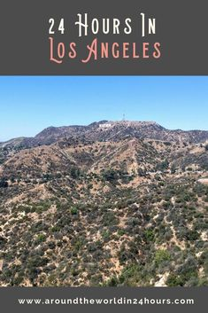 So you want to spend a perfect one day in Los Angeles itinerary with Griffith Observatory? Join me for a day of stars, pizza, and creepy wax figures! #losangeles #california