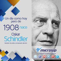 Un día como hoy 28 de mayo pero de 1908 nace Oskar Schindler. Salvador de judíos y empresario alemán.