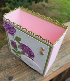 AnnMarie's Stamping Adventures!!: Oh how I adore you one sheet box!