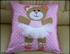 Mickey Craft, Letter Cushion, Cute Cushions, Reading Pillow, Wedding Dresses For Girls, Baby Pillows, Handmade Felt, Felt Toys, Ribbon Embroidery