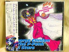 CD/Japan- GEORGE CLINTON & P-FUNK ALL STARS Funk Permission Card w/OBI RARE OOP
