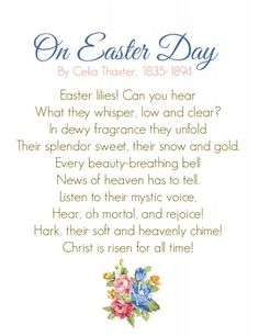 free easter plays and speeches