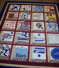 One of the custom Memory Quilts I made.