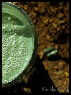 Indian food - Spirulina has been described as a Super food. The algae powder can be added to your milk products and tasted quite exciting.
