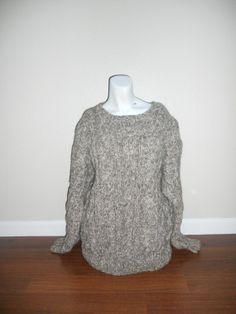 Beautiful THICK Warm Winter Sweater 80s  90s by ATELIERVINTAGESHOP, $40.00