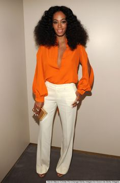 Solange Knowles at the Chime For Change event in New York City.