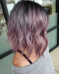 60 Sweet Mauve Hair Color Ideas, You Should Try This Year 61