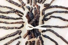 Smoked Beef Jerky: 3 Steps (with Pictures) Smoker Beef Jerky, Smoker Jerky Recipes, Beef Jerky Marinade, Egg Smoker, Barbecue Smoker, Grilling, Bbq, Grill Recipes, Chicken Recipes