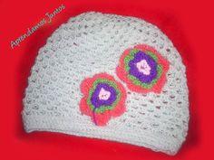 Como Tejer Un Gorro Para Niña En Crochet facil
