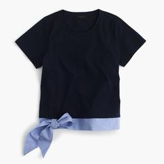 J.Crew - Side-tie T-shirt