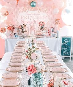 Princeess Party Birthday Ideas