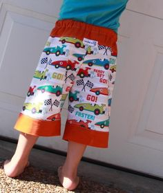 Best boys shorts pattern ever - Funky Mister Boys Shorts by Zoe's Pocket Designs http://zoespocket.com.au/products-page/for-sewing/funky-mister-pattern/