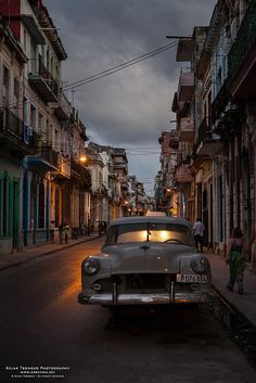 Havana in twilight