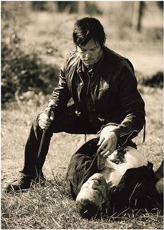 The Walking Dead .. Daryl Dixon