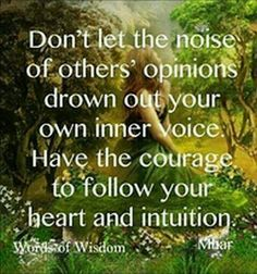 Follow your #Heart to achieve your #Dream. There will always be Haters, Doubters, and Fake Friends. Don't listen to them. Get rid of them. #Transform