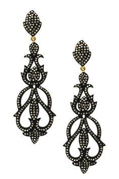 Vintage Victorian Diamond Earrings - 1.80 ctw by Bansri on @HauteLook
