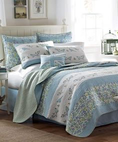 Another great find on #zulily! Birds & Branches Quilt by Laura Ashley Home #zulilyfinds