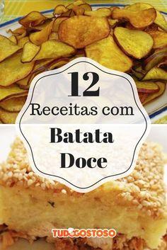 Batata doce _ receitas