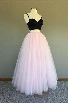 Beautiful Prom Dress #BeautifulPromDress, Prom Dress Two Piece #PromDressTwoPiece, Prom Dress Cheap #PromDressCheap, Black Prom Dress #BlackPromDress, Prom Dress Pink #PromDressPink Prom Dresses 2019