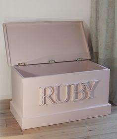 Medium-RUBY-Blanket-Box-Calamine | Victoria Boyle http://www.victoriaboyle.co.uk/