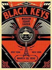 Image result for black keys concert poster