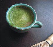 ポカポカ温まる冬のドリンク 抹茶ホットショコラ