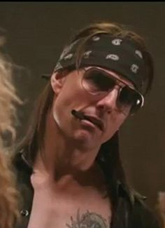 """Tom Cruise is drawing raves from director Adam Shankman for his portrayal of Stacee Jaxx in the rock music send up, """"Rock of Ages,"""" and a new trailer for the movie shows Cruise over the top in the role."""