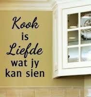 Kook is liefde wat jy kan sien...en proe!!
