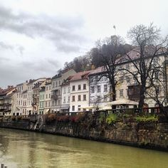 #Ljubljana- the capital of Slovenia- a small and pretty city, full of surprises