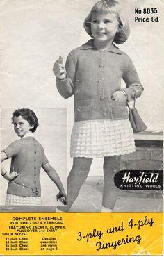 girls jacket sweater skirt knitting pattern от coutureknitcrochet