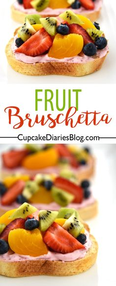 Fruit Bruschetta - A