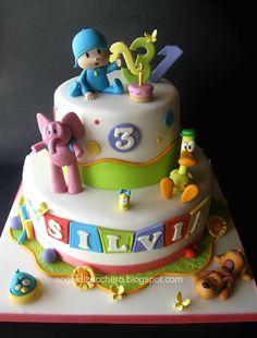 linda torta para el cumple de pori!