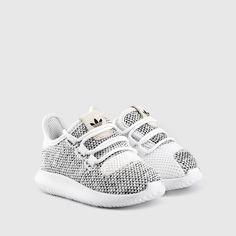 adidas - Toddler Tubular Shadow Knit (White | Black)