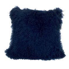 Found it at Wayfair - Tibetan Lamb Fur Throw Pillow