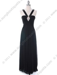 Black Evening Dress. $98. Get yours today at www.SungBoutiqueLA.com
