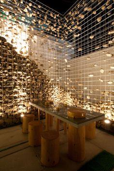 Cafe Ato, Seoul // Designed by Design BONO #restaurant #wood