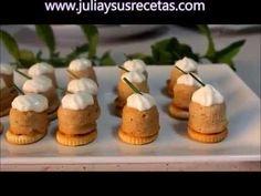 JULIA Y SUS RECETAS: Bombones de atún con mayonesa