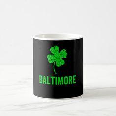 Baltimore Irish Mug Nice Design Custom office supplies #business #logo #branding