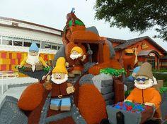 Downtown Disney - 7 Dwarfs Legos