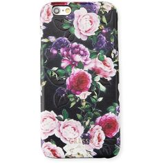 Gresso Victorian Garden iPhone Case ($30) ❤ liked on Polyvore featuring accessories, tech accessories, purple, purple iphone case, apple iphone case, floral iphone case, iphone cases and iphone sleeve case