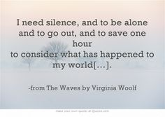-from The Waves by Virginia Woolf