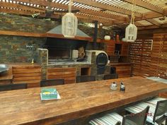 12 Pergola Patio Ideas that are perfect for garden lovers! Outdoor Kitchen Bars, Backyard Kitchen, Summer Kitchen, Outdoor Kitchen Design, Backyard Bbq, Kitchen Decor, Pergola Attached To House, Deck With Pergola, Pergola Patio