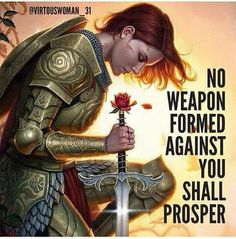 No weapon formed against you shall prosper!