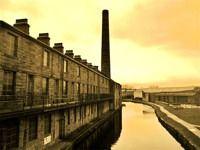 Burnley, Lancashire, England... The Weavers Triangle/Leeds Liverpooll Canal