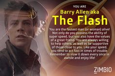 Which Character from 'The Flash' Are You? Justin is the Flash