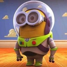 Minion as Spaceman from Toy Story