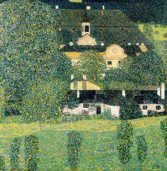 Gustav Klimt - Schloss Kammer am Attersee II, c.1909
